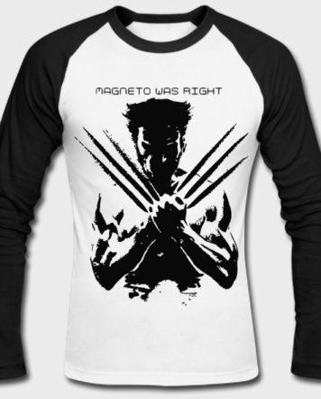 wolverine full sleeves t-shirt