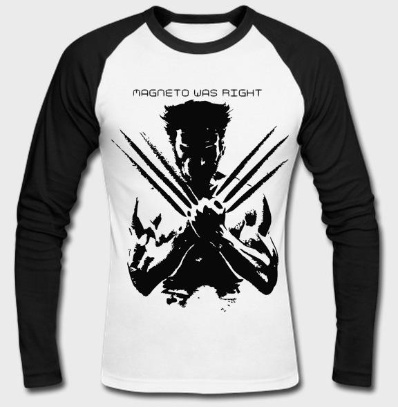 hot sales hot sales sale uk 'Wolverine Full Sleeves Raglan T-shirt