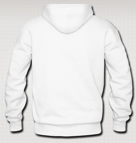 Plain White Hoodie |