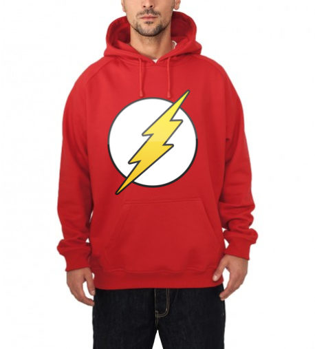 flash hooded sweatshirt red