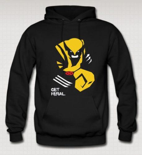 Wolverine x-men sweatshirt