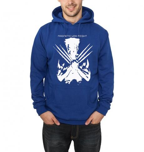 wolverine blue hoodie