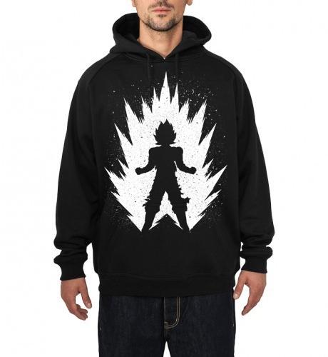 Vegeta Black hoodie