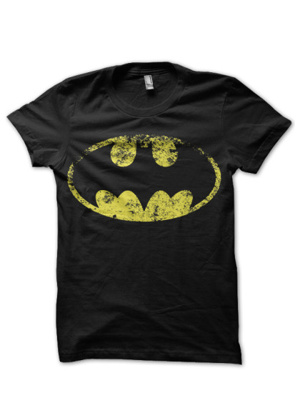 batman balck tee