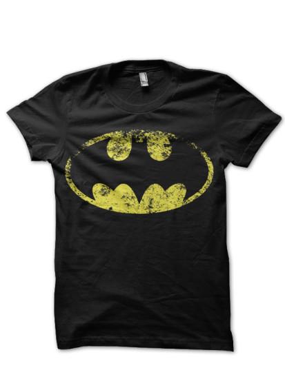 batman balck tee