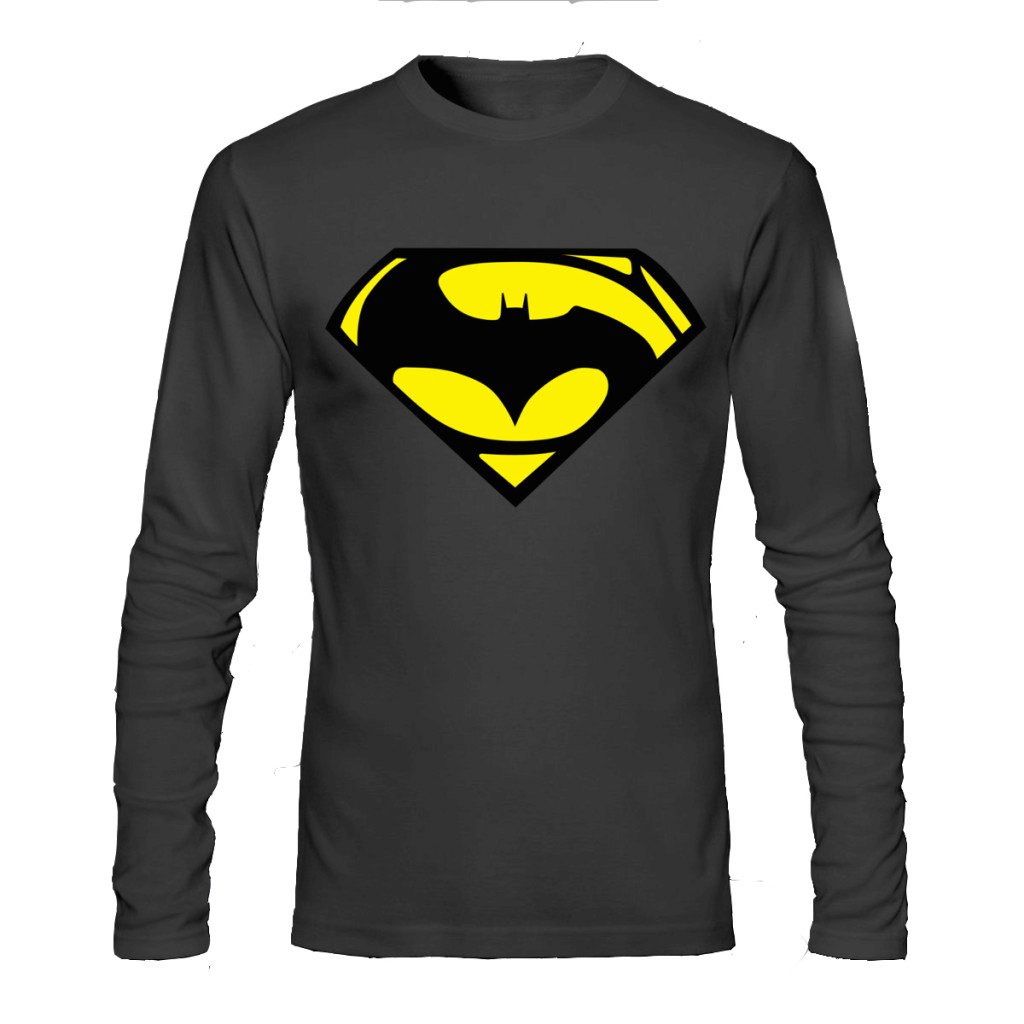 c8c1ff37e Batman Vs Superman Black Full Sleeve Tee   Swag Shirts