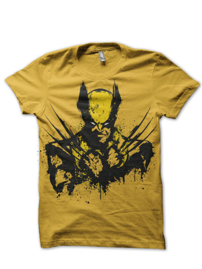 wolverine yellow tee