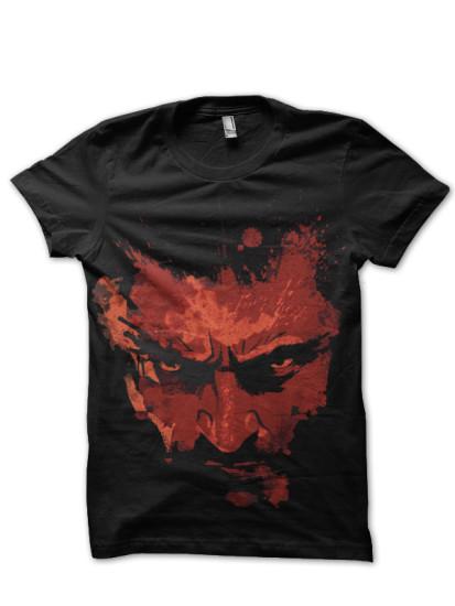 logan black t-shirt