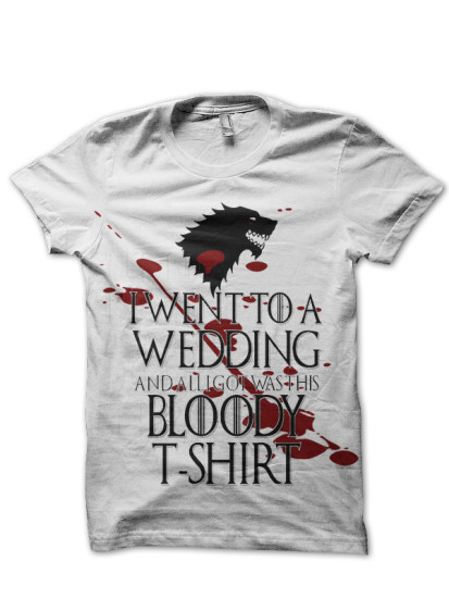 Red Wedding T Shirt
