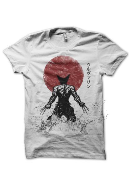 wolverine samurai tshirt tshirt