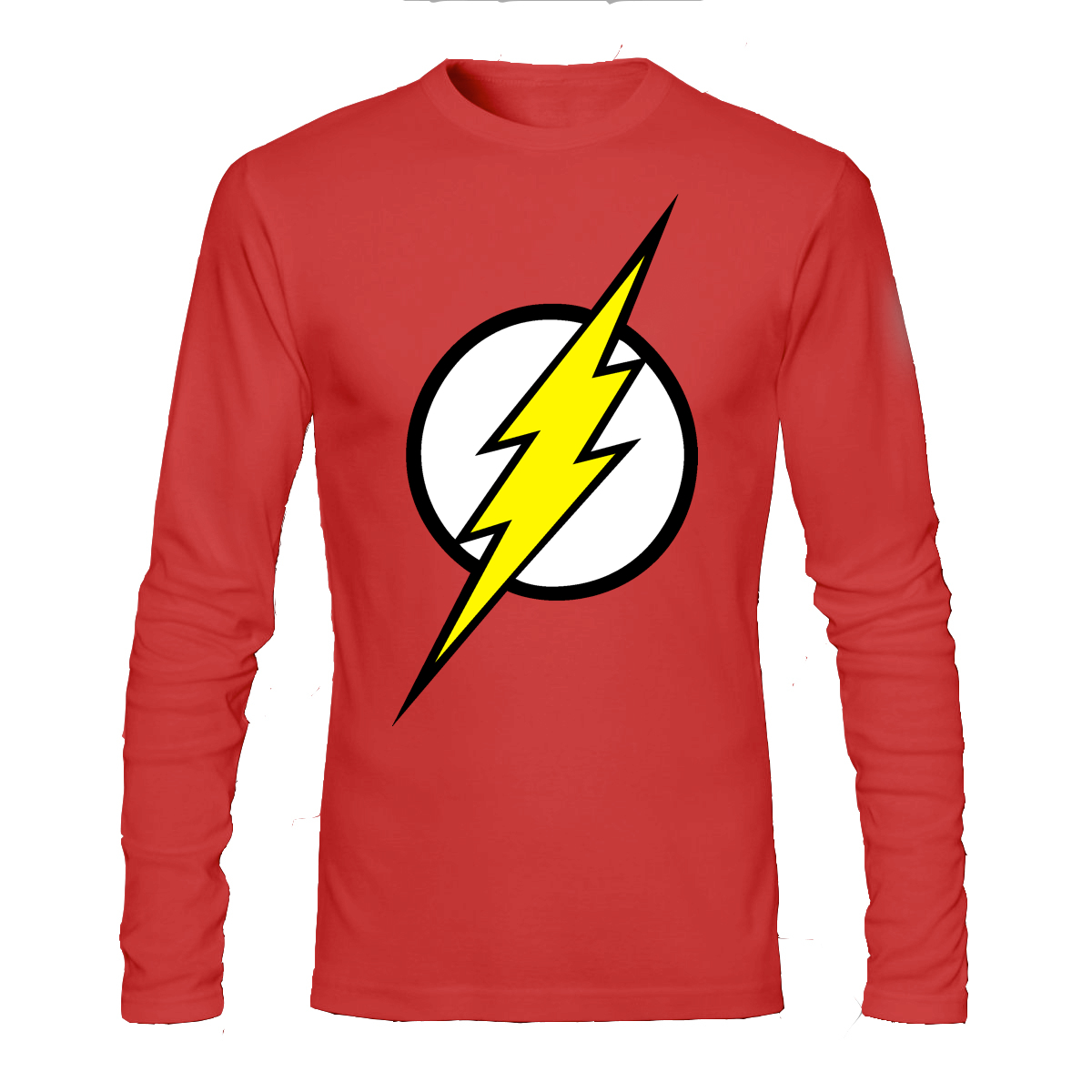 Flash Red Full Sleeve T-Shirt  53be45789c3