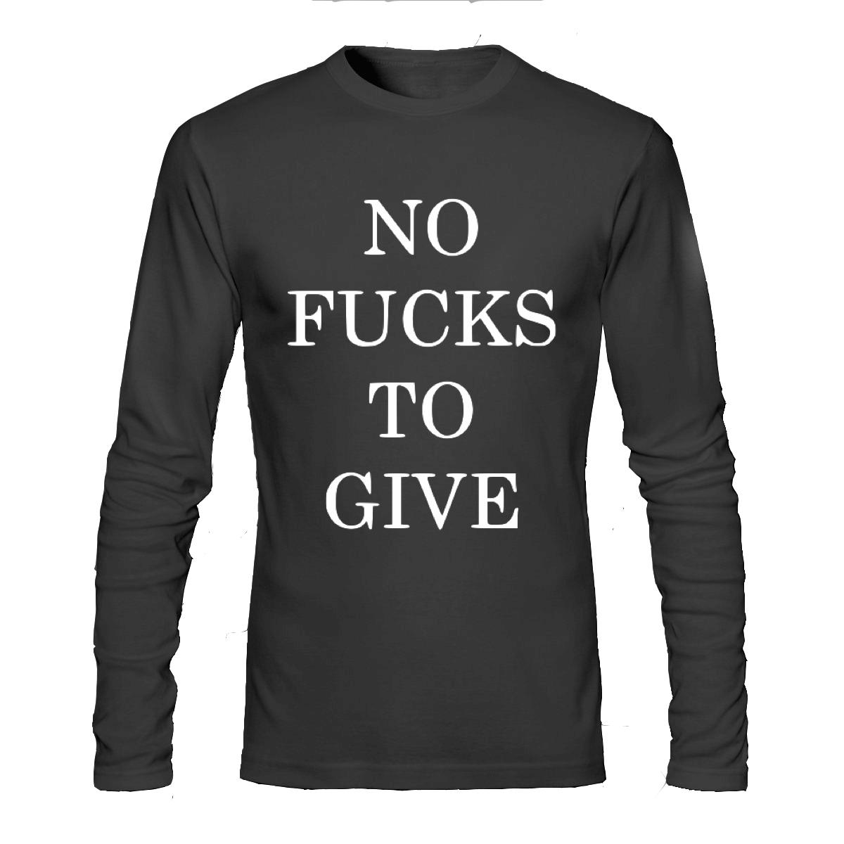 793feed5c No fucks to give full sleeve t-shirt | Swag Shirts