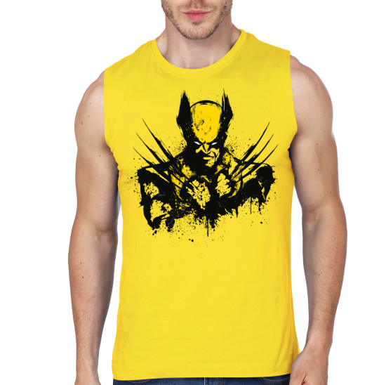 wolverine yellow vest