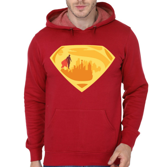 supercity red hoodie