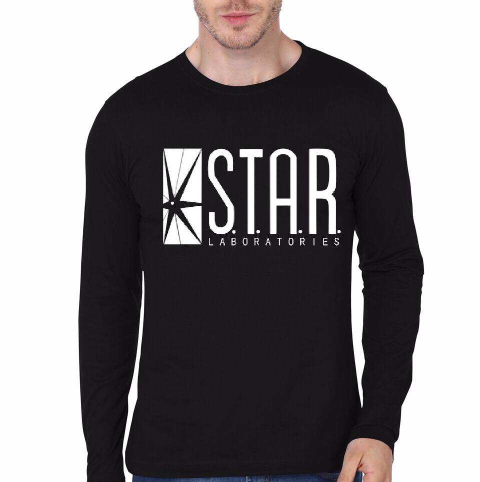 Star labs black full sleeve t shirt swag shirts for Jockey full sleeve t shirts india