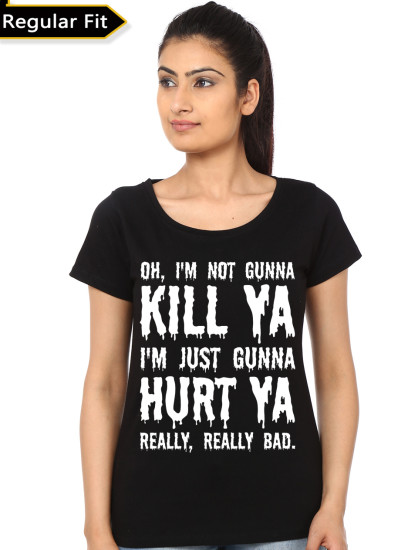 jerad letto suicide squad girls black tshirt