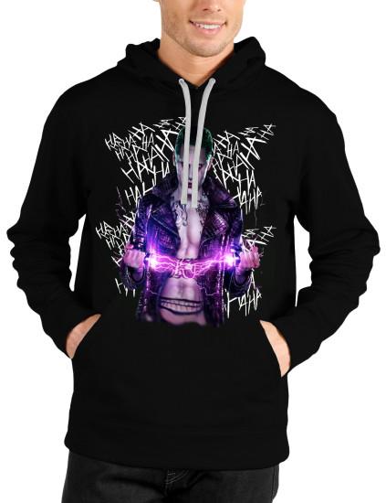 leto suicide squad joker black hoodie