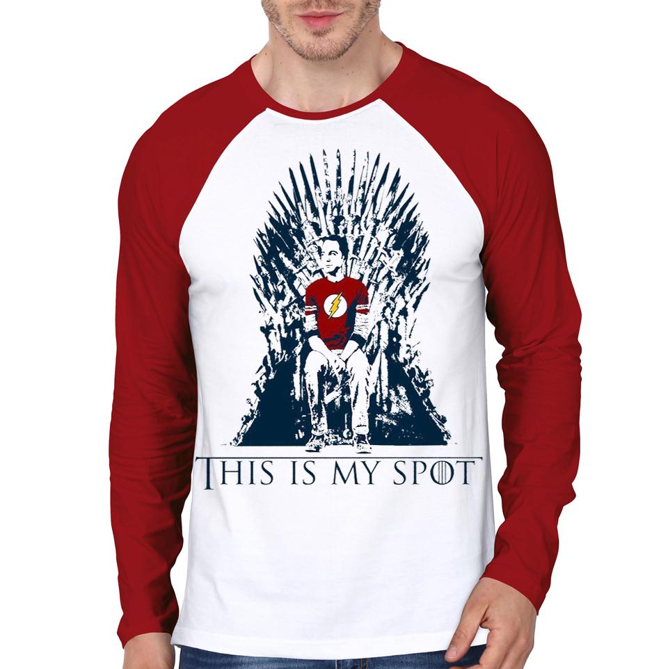 96d20a9130 Game Of Sheldon Raglan T-Shirt | Swag Shirts