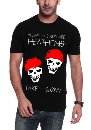 take it slow black t-shirt