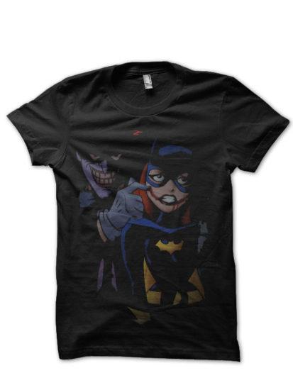 batman 10 black tee