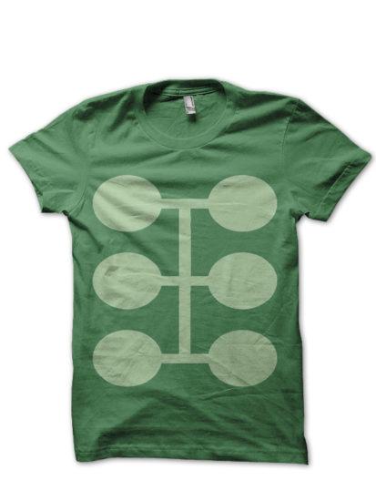 deadpool 8 green tee