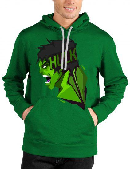 hulk green hoodie