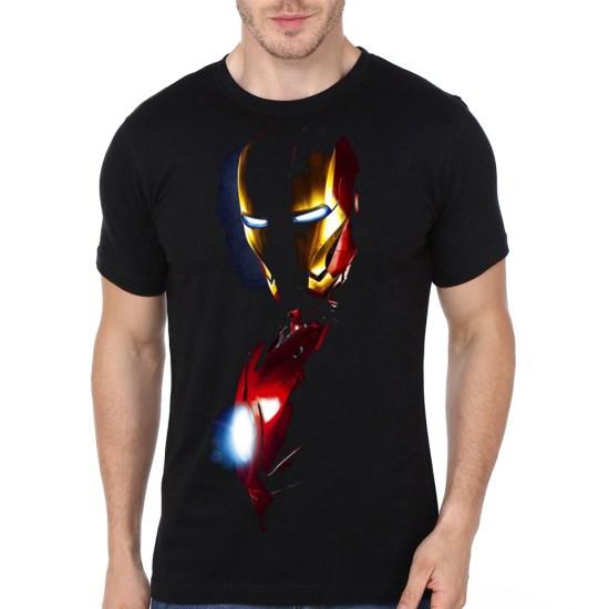 iron man black t shirt swag shirts. Black Bedroom Furniture Sets. Home Design Ideas