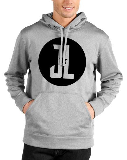 justice league grey hoodie