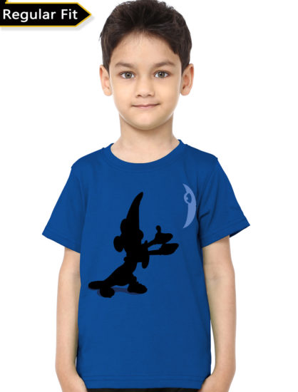 mickey mouse12 blue tee