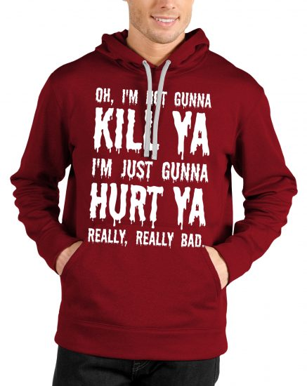 suicide squad red hoodie