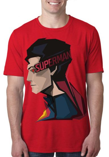 superman red t-shirt