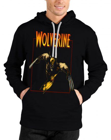 wolverine black hoodie