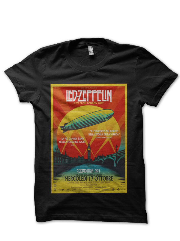 Led Zeppelin T Shirts Women