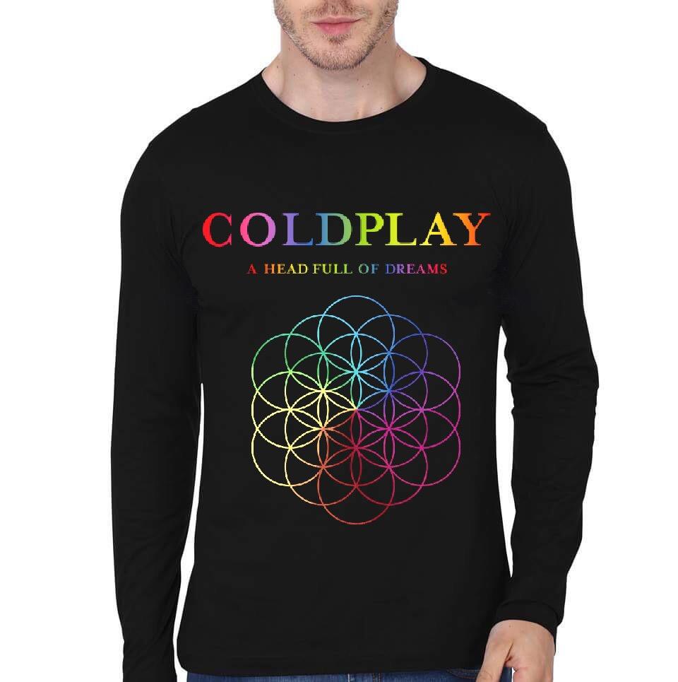 0e733736 Coldplay Black Full Sleeve T-Shirt | Swag Shirts