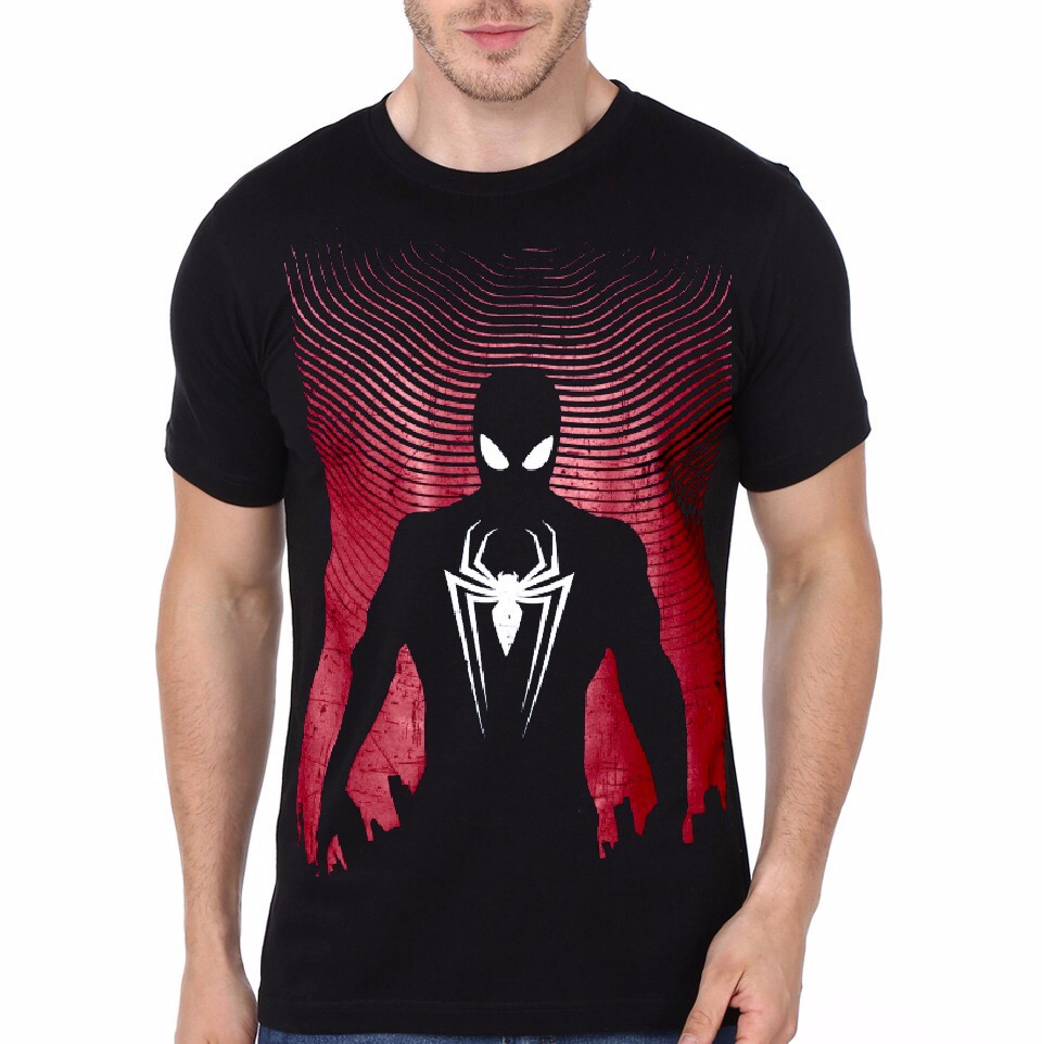 spiderman black t shirt swag shirts. Black Bedroom Furniture Sets. Home Design Ideas