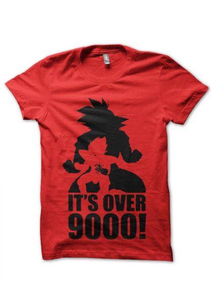 9000 red tshirt