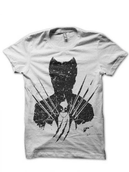 adamantium shadow black tshirt