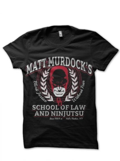 daredevil black t-shirt