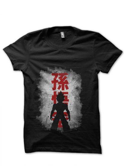 dirty wall black tshirt
