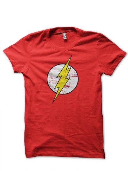flash red tee 1