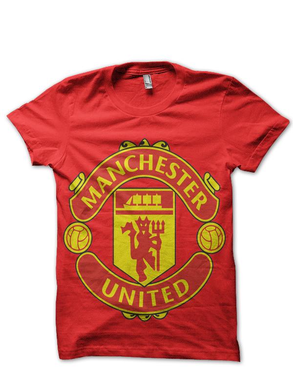 Manchester United Club T Shirt Swag Shirts