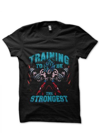 strongest black tshirt