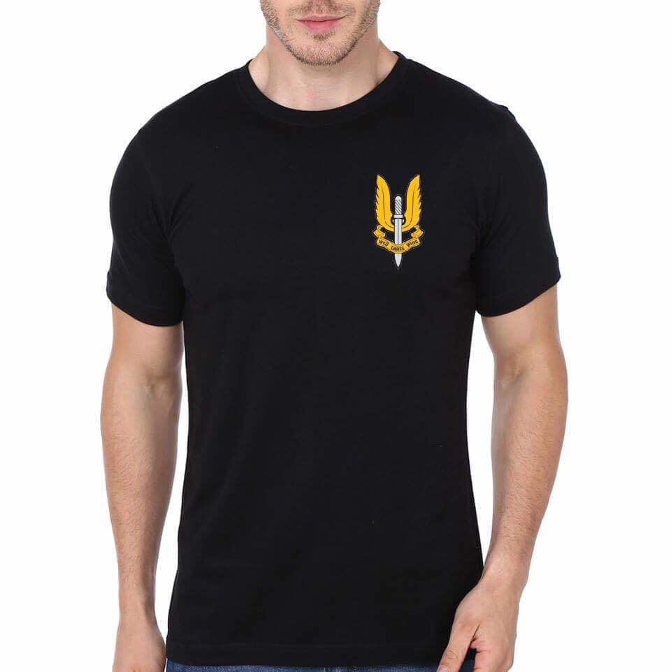 Special Forces Black T Shirt Swag Shirts
