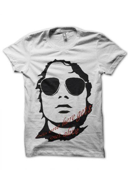 alive white tshirt