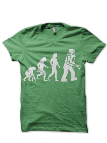 big bang theory green tshirt