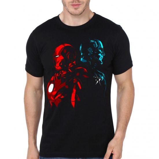 iron man black tshirt