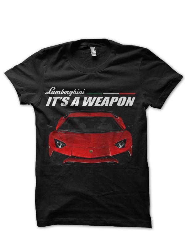 Lamborghini Aventador T,Shirt