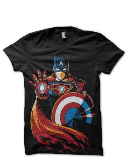 captain black tshirt