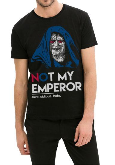 emperor black tee