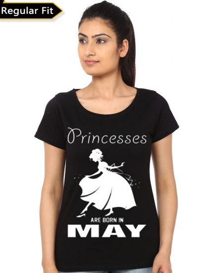 princess black tshrt
